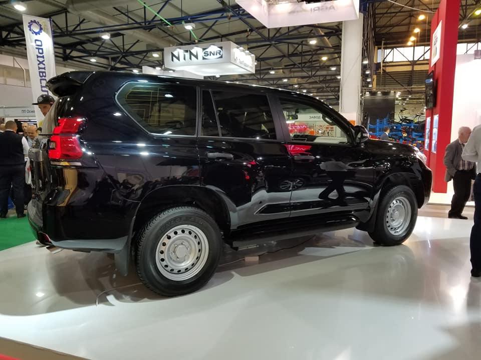 В Украине показали новый Toyota Land Cruiser Prado дешевле RAV4