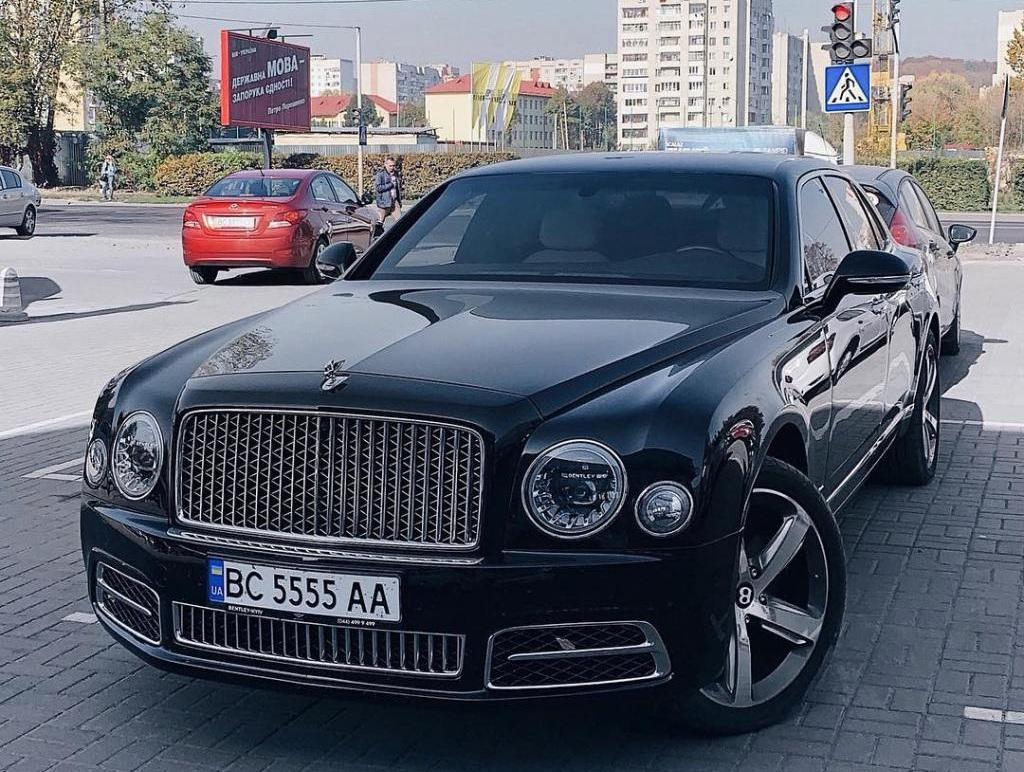 В Украине появились новейшие Bentley Mulsanne 2018