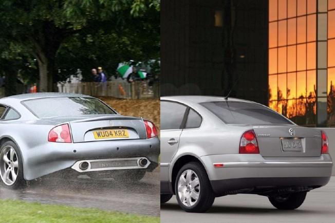 Что общего между седаном VW Passat и суперкаром Invicta S1