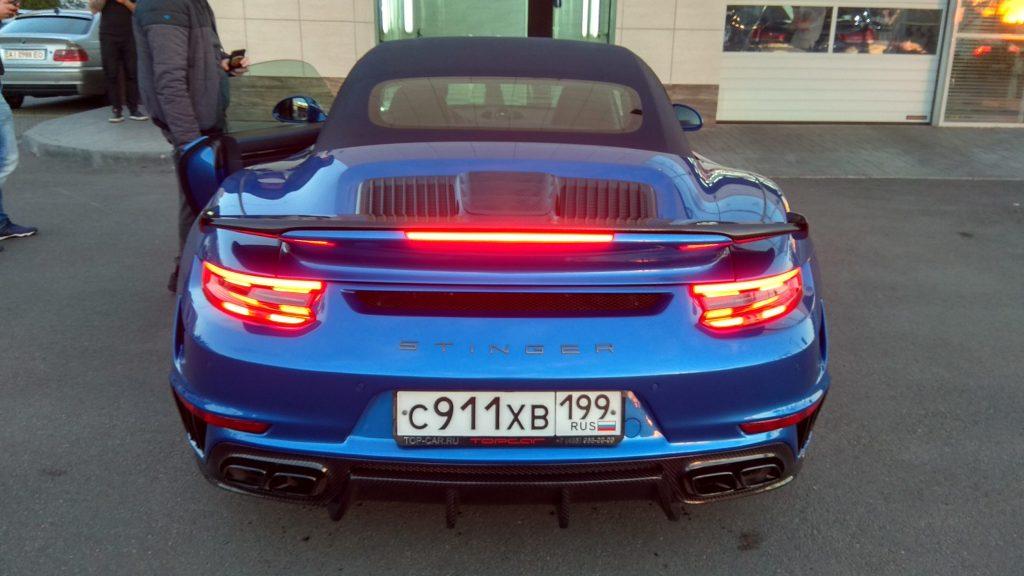 Уникальный Porsche 911 Stinger GTR в Украине