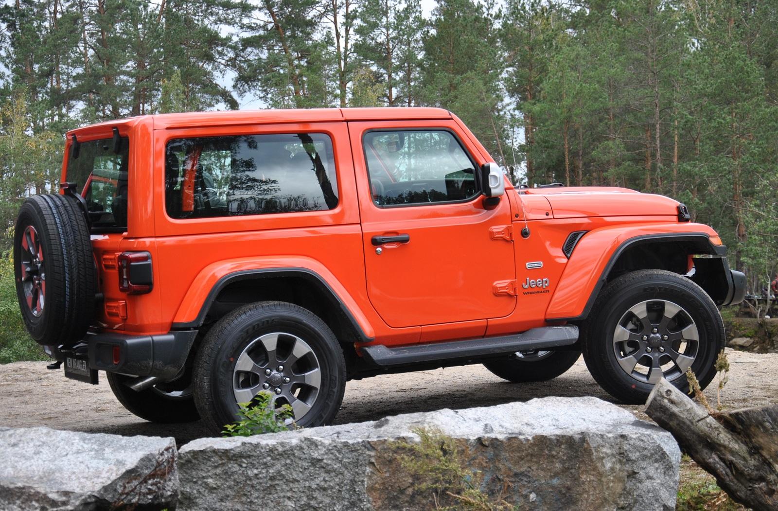 Тест-драйв нового Jeep Wrangler в Украине: король бездорожья