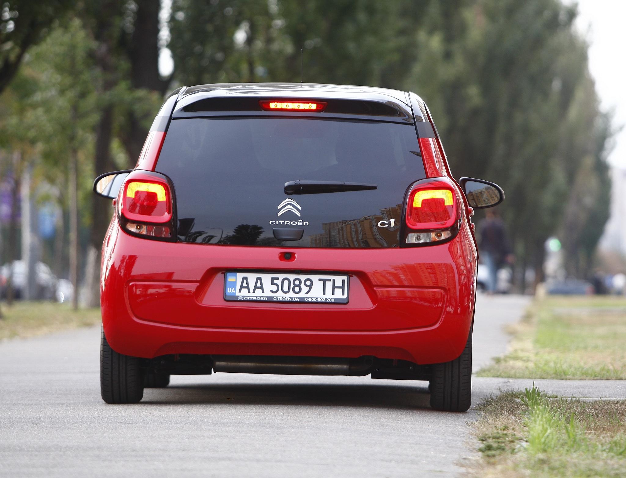 Тест-драйв нового Citroen C1 в Украине: городской стиляга