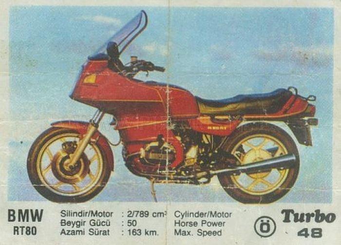 Баварский турист: редкий мотоцикл BMW с вкладыша Turbo
