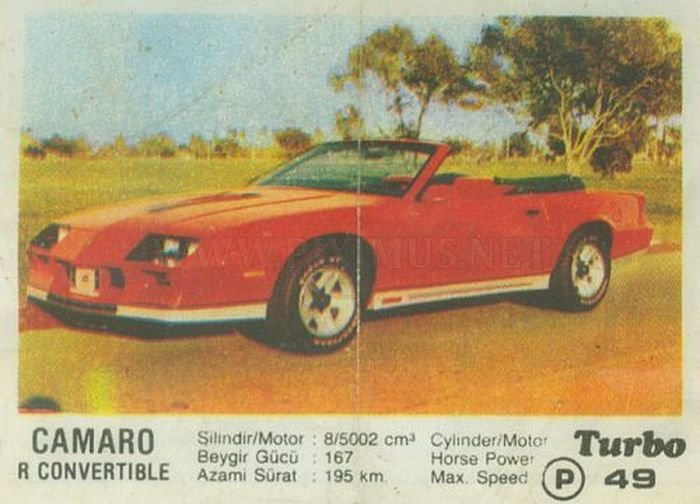 Американское зубило: история Chevrolet Camaro с вкладыша Turbo