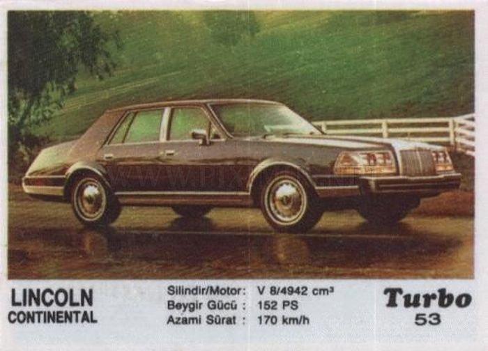 Американская классика: история Lincoln Continental с вкладыша Turbo