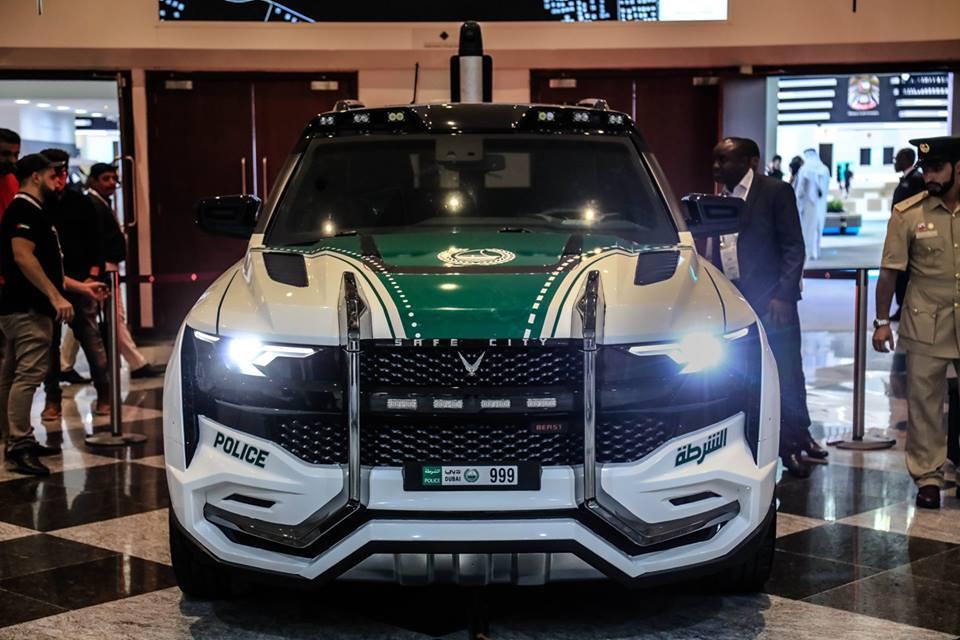 Полиция Дубая пересядет на безумные арабские внедорожники