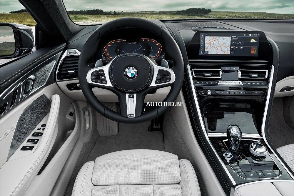 Новейший кабриолет BMW 8 полностью рассекречен