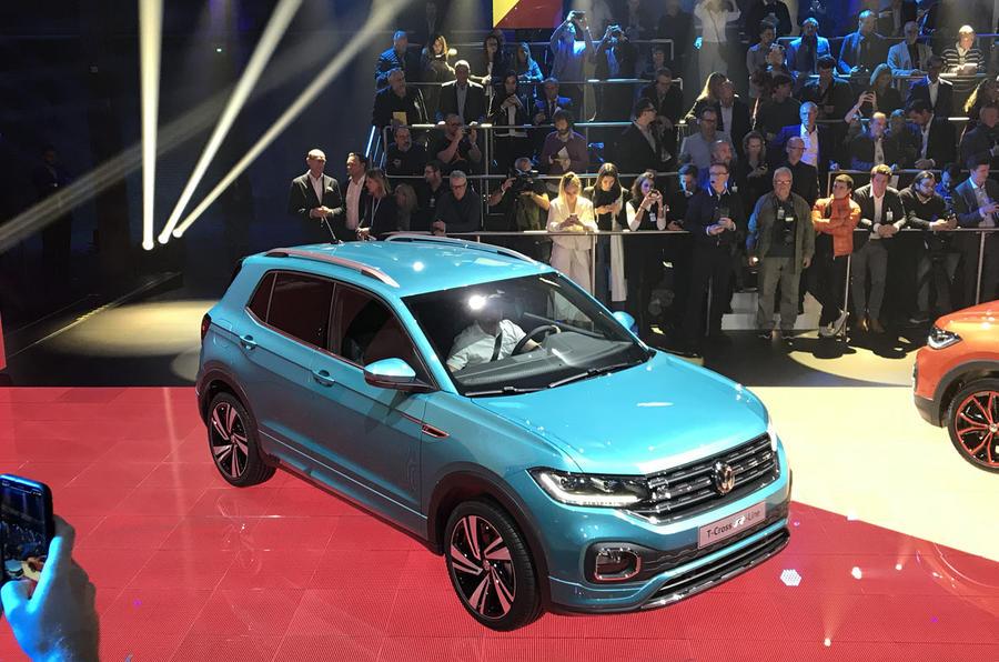 Volkswagen T-Cross: живые фото и обзор нового конкурента Nissan Juke