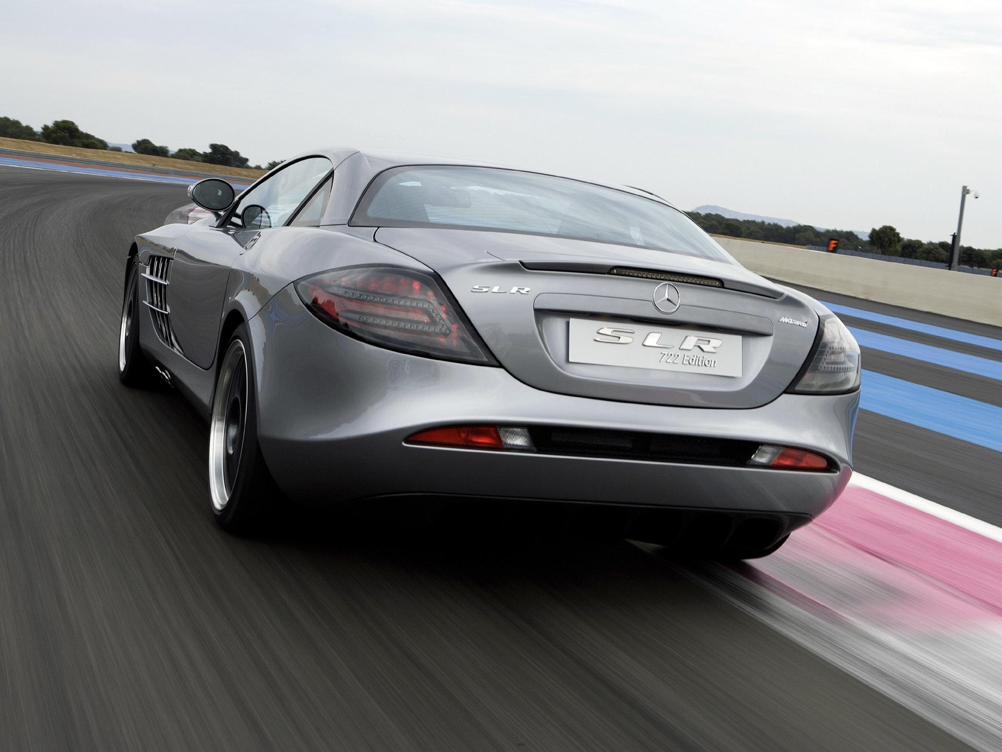 В Украине засняли редчайший суперкар Mercedes лимитированной серии