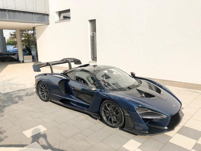 Новейший гиперкар McLaren разбили через час после покупки