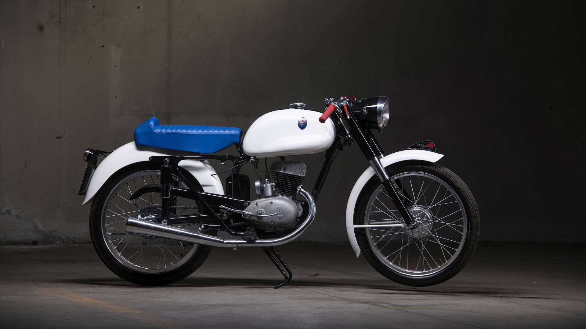 Редчайший мотоцикл Maserati, о котором никто не знал