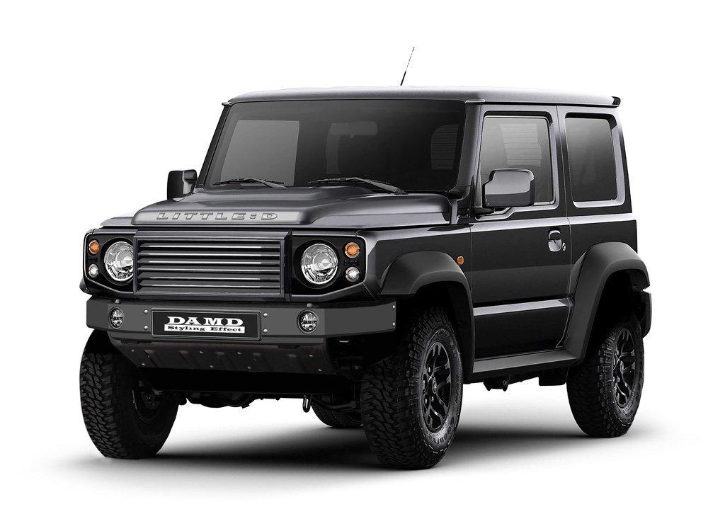 Японцы предложили тюнинг Suzuki Jimny под Гелендваген и LR Defender