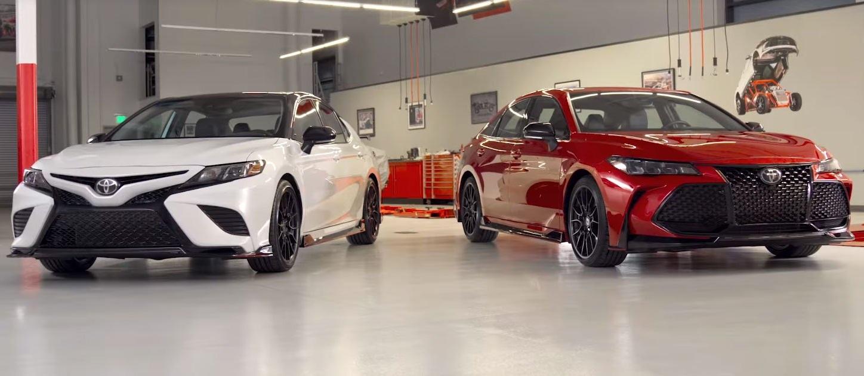 Новые Toyota Camry и Avalon получили заряженные версии