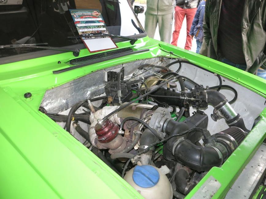 В Украине построили турбированное купе Москвич