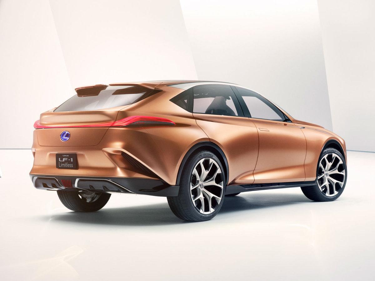 Новый кроссовер Lexus бросит вызов Lamborghini Urus