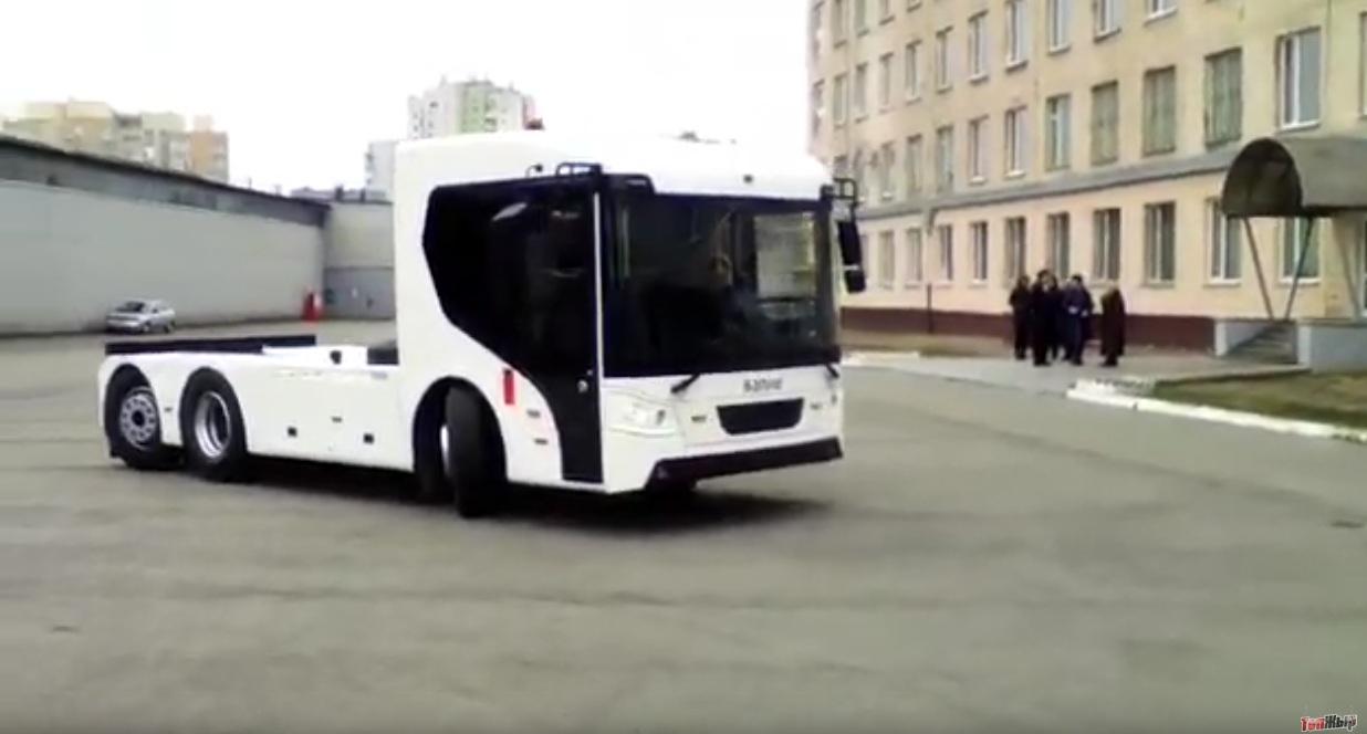 Представлен первый украинский электромобиль для Европы