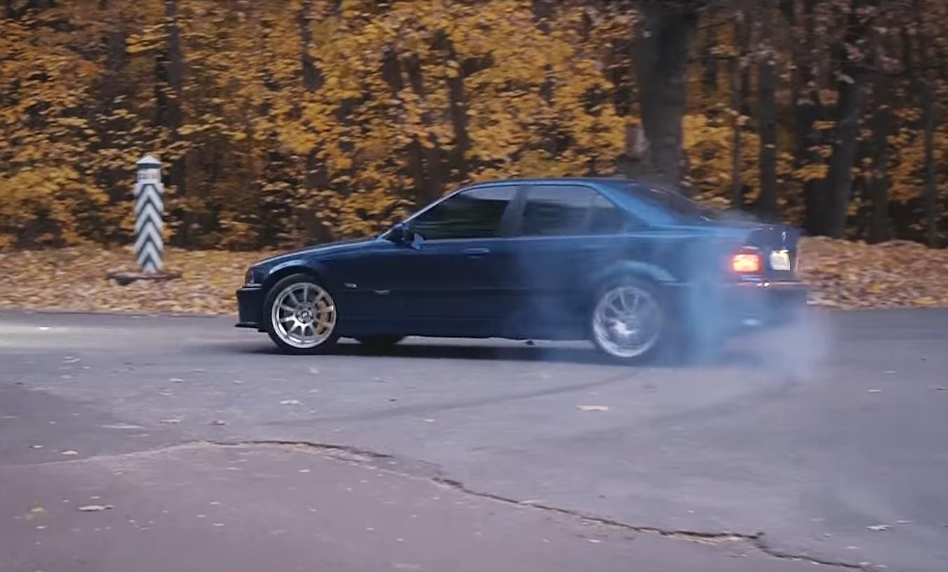 В Украине создали BMW 3 E36 с характеристиками Bugatti