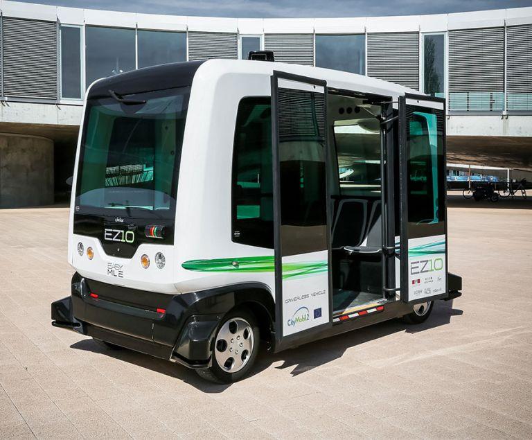 В Украине планируют совсем скоро запустить беспилотные автобусы
