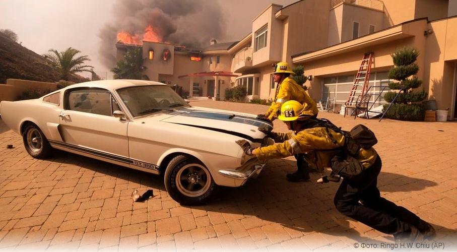 Пожар в Калифорнии уничтожил редчайший спорткар Buick