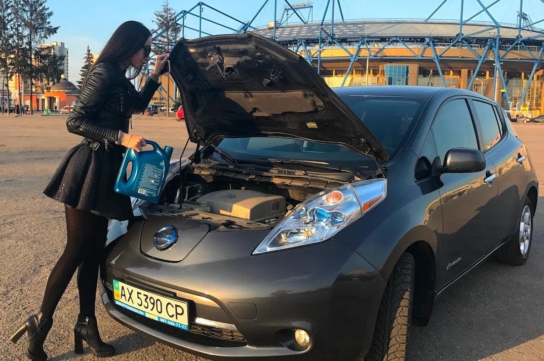 ТОП-10 электромобилей в Украине по итогам октября