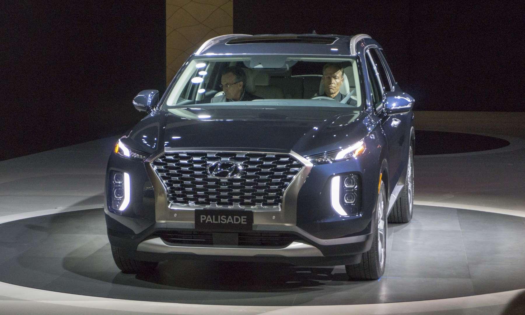 Самый большой кроссовер Hyundai официально представлен