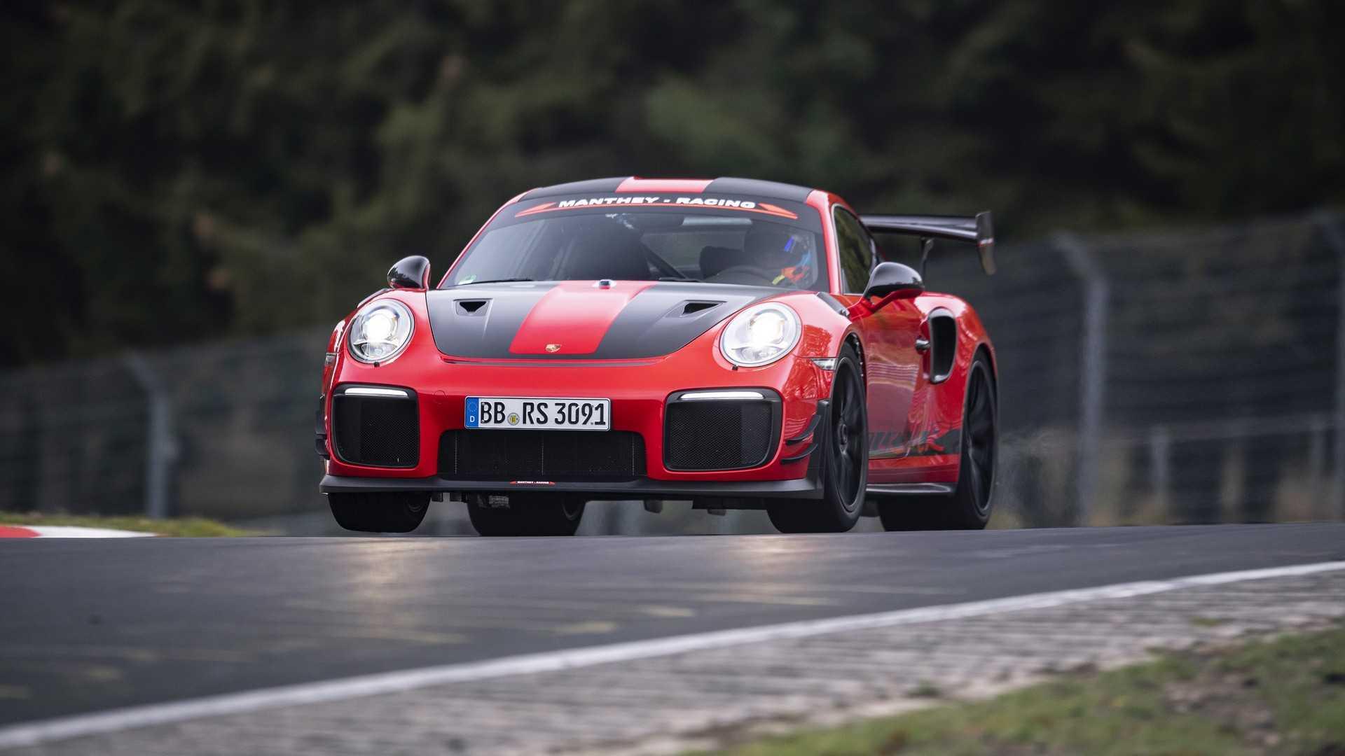 Новый суперкар Porsche побил рекорд Нюрбургринга