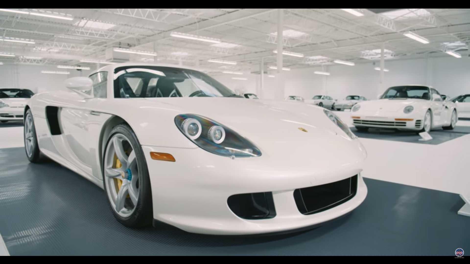 Белым-бело: фото и видео самой крутой коллекции Porsche