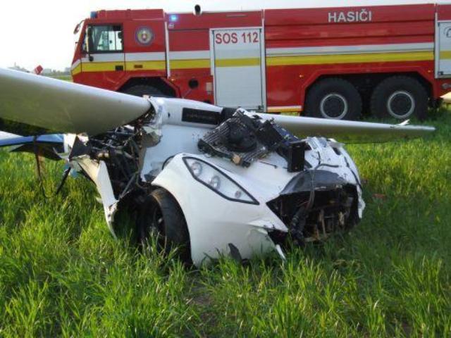 Летающий автомобиль-самолет разбился на испытаниях
