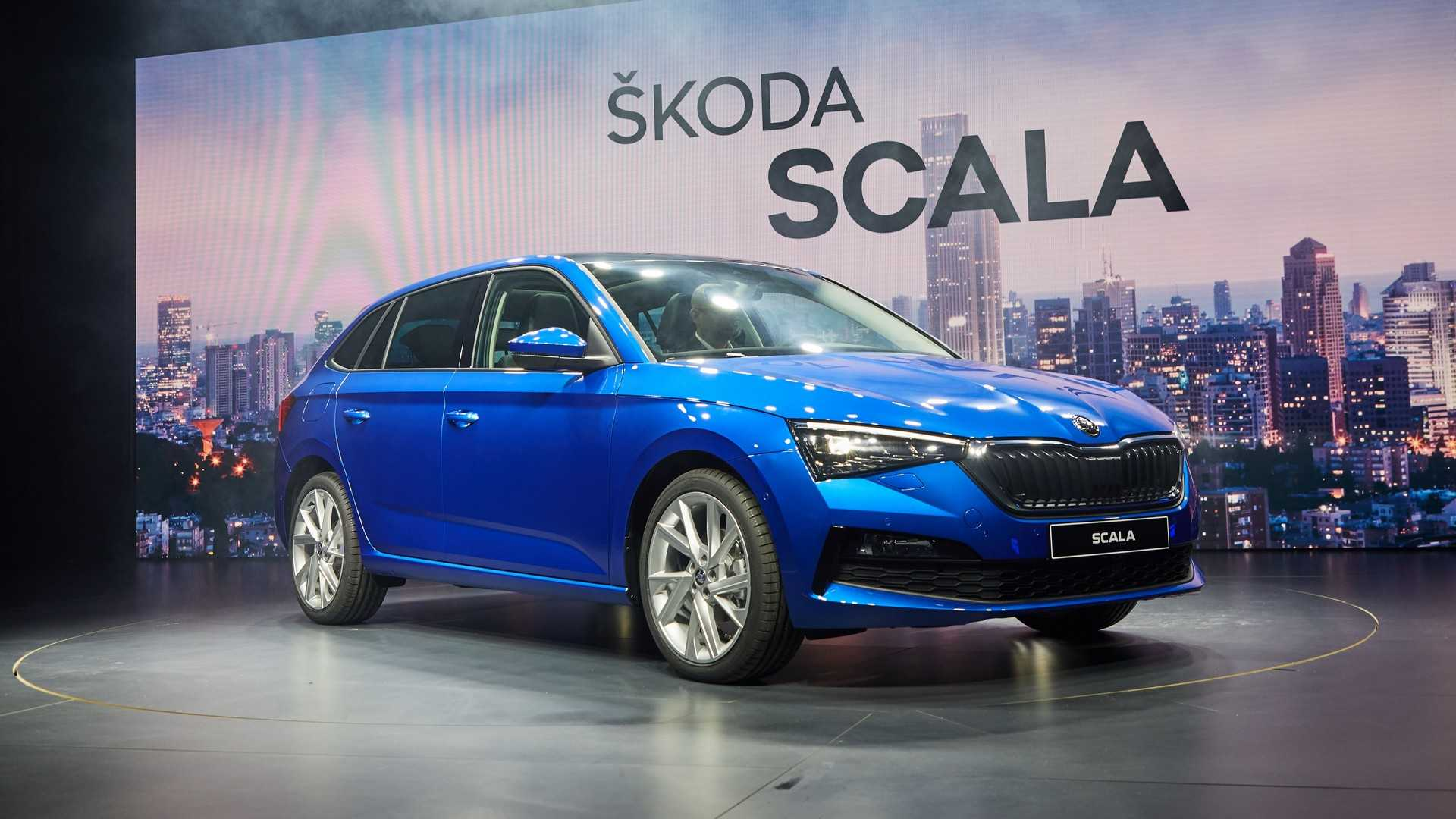 Skoda Scala: живые фото и обзор нового соперника Ford Focus и Kia Ceed