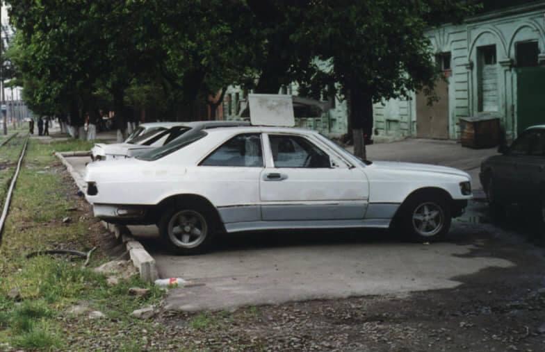 Самое уникальное и невероятное купе Mercedes в Украине