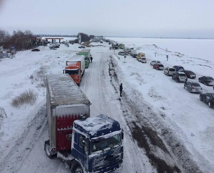 Укравтодор предупредил о новых сильных снегопадах