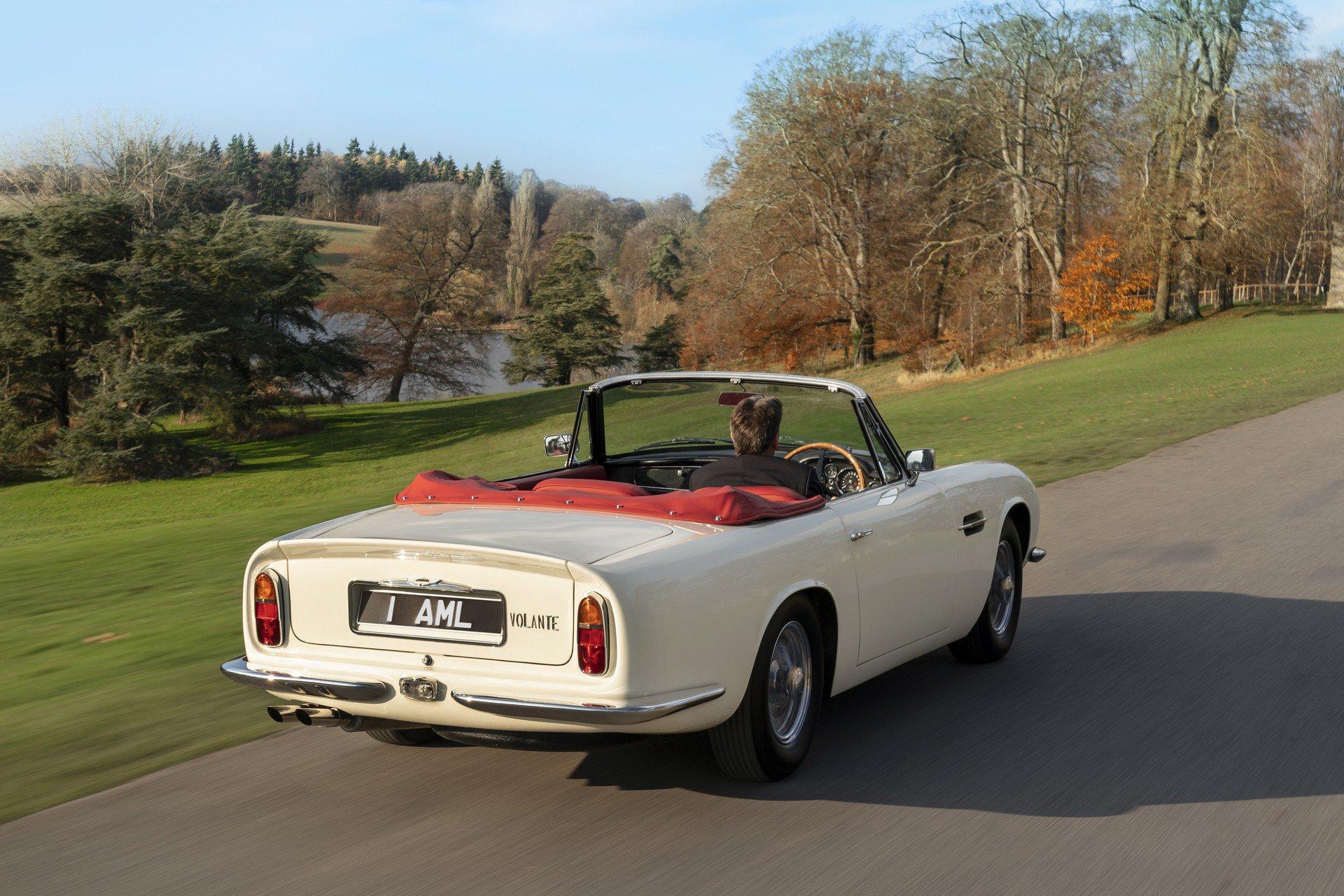Культовый Aston Martin 60-х превратили в скоростной электрокар