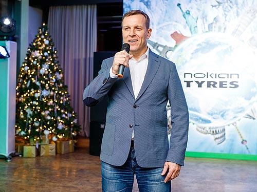 На ежегодном пресс-клубе компания Nokian Tyres представила нового директора украинского представительства