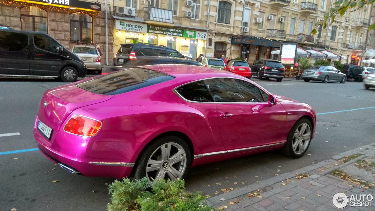 Как выглядит самый гламурный Bentley в Украине