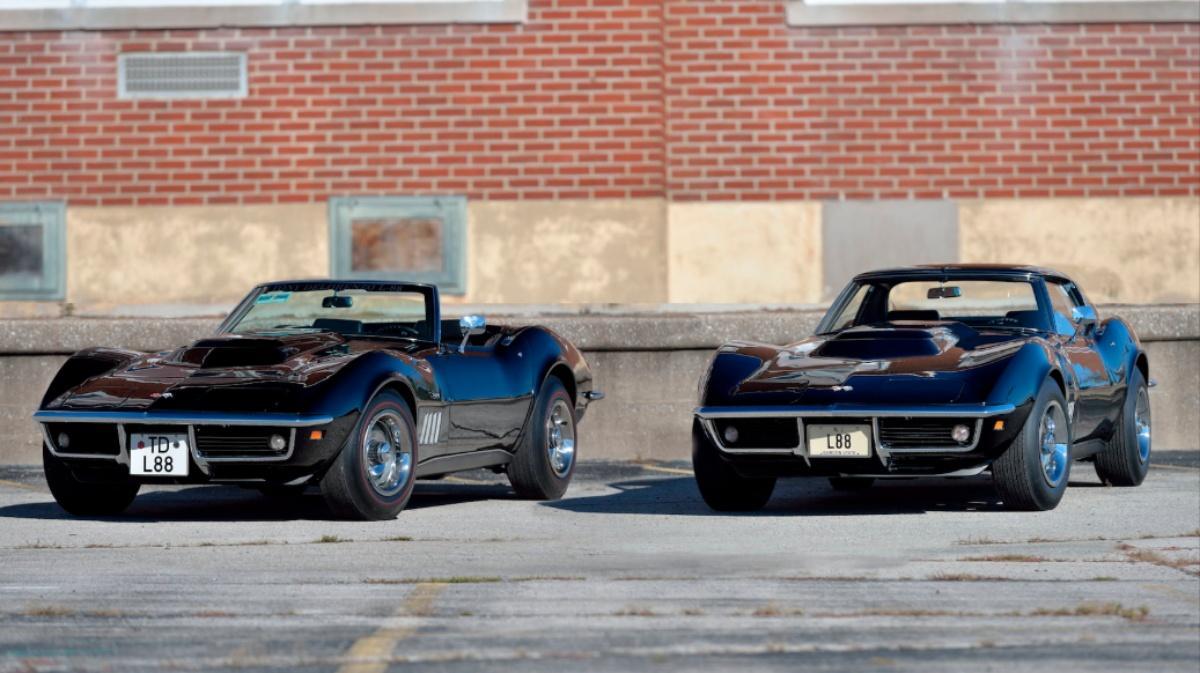 Самые крутые Chevrolet Corvette 60-х продадут по цене суперкаров