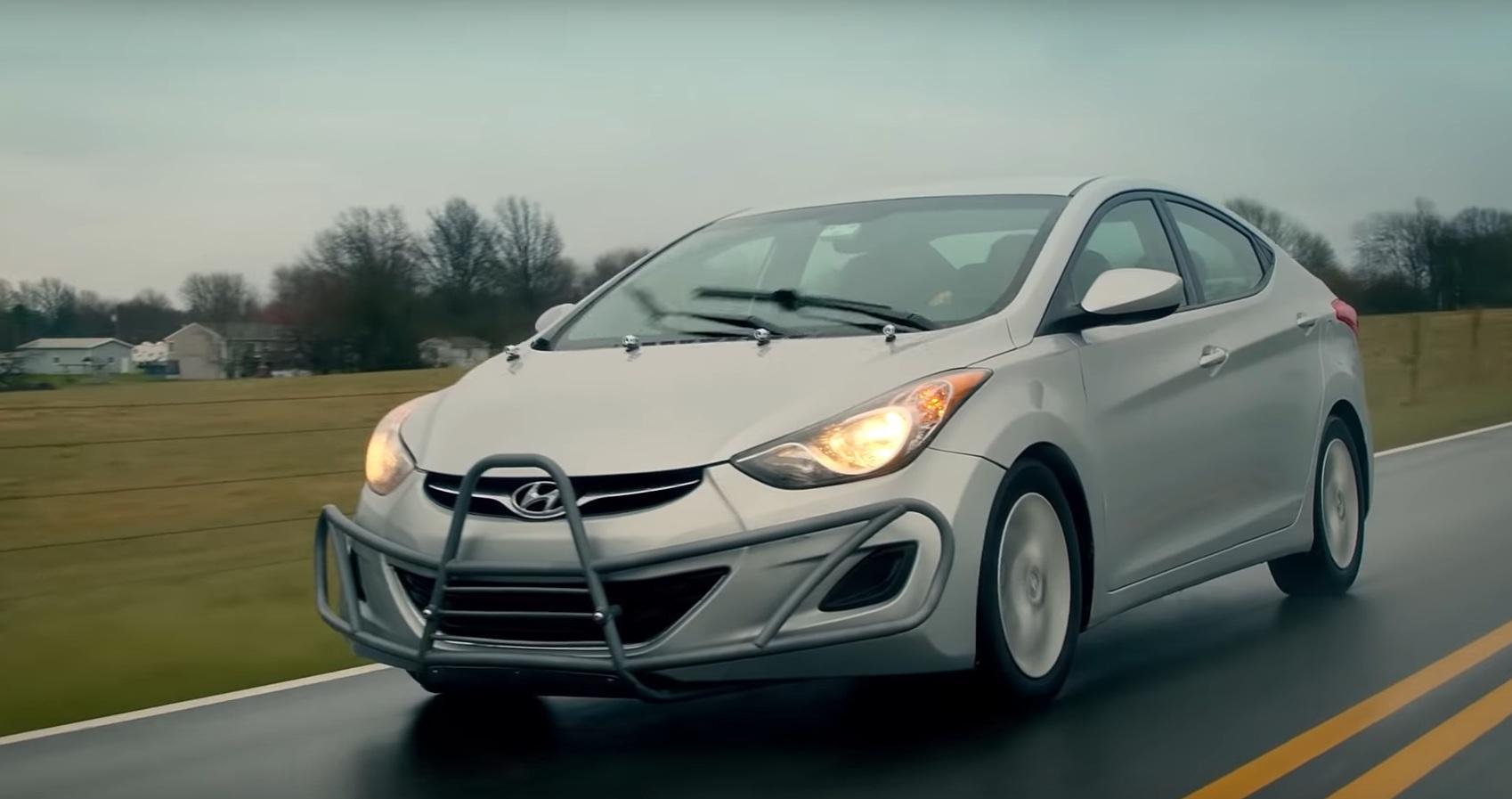 Обнаружен Hyundai Elantra 2013 года с пробегом под 2 миллиона км