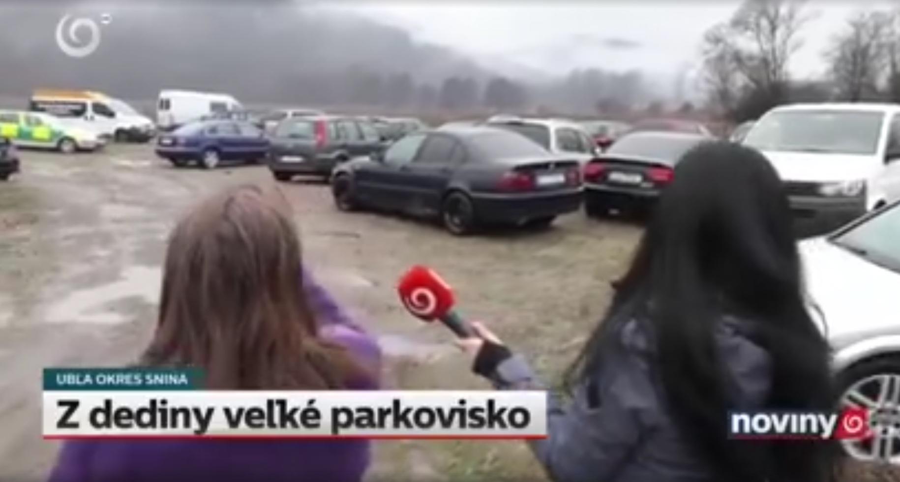 Словаков шокировало кладбище нерастаможенных авто из Украины