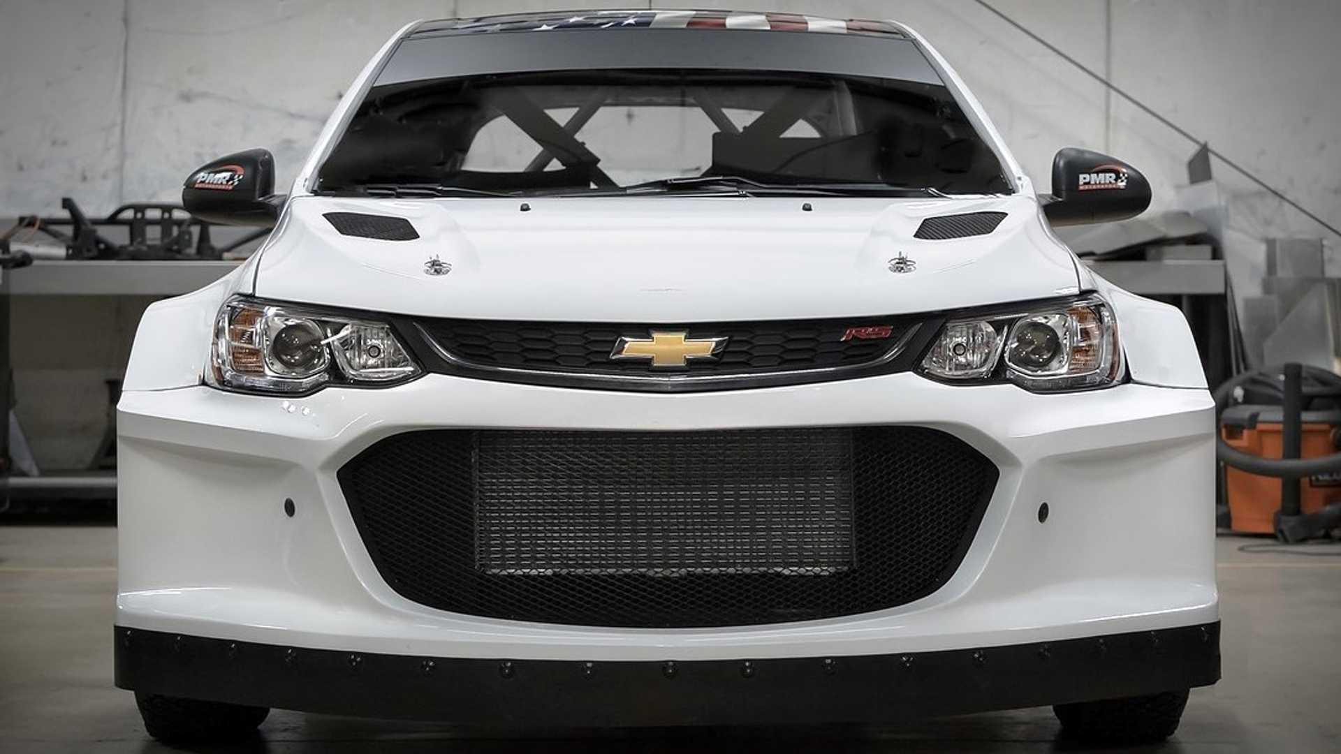 Chevrolet Aveo превратили в раллийный спорткар с мотором от Corvette