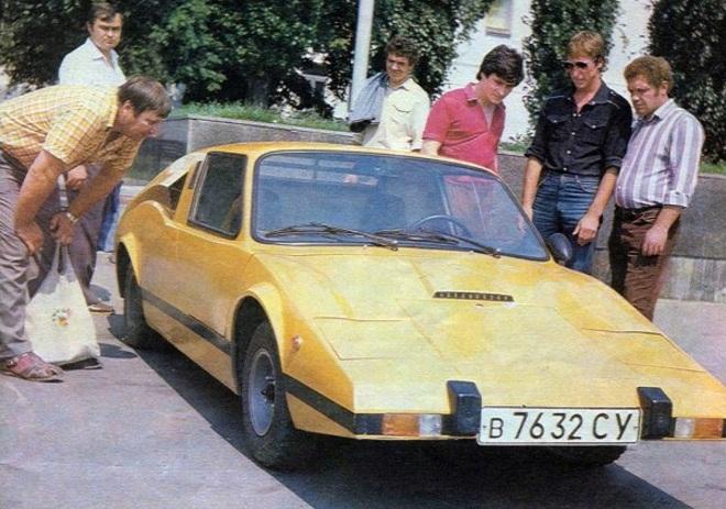Уникальный украинский спорткар Мурена, о котором мало кто знал