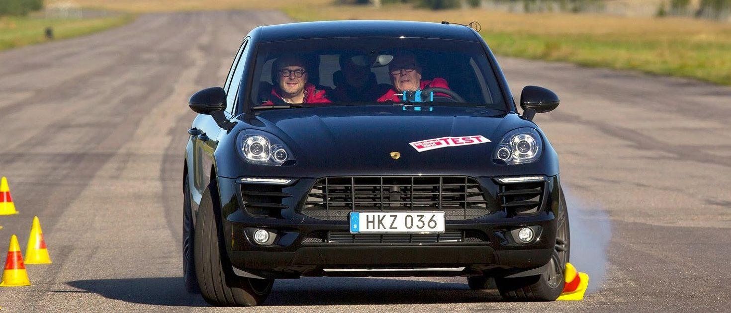 Porsche Macan провалил «лосиный тест»