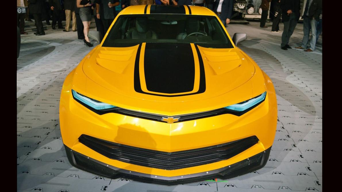 На продажу выставили самые знаменитые авто из Трансформеров