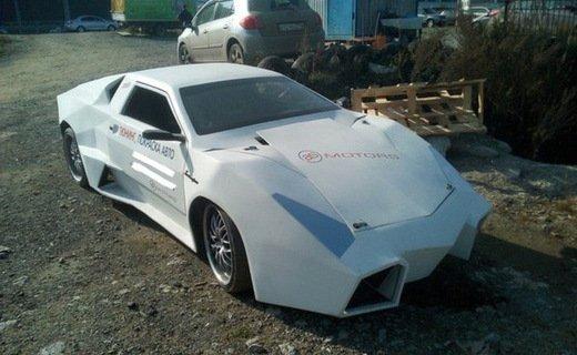 Из ВАЗ 2018 сделали купе Lamborghini жуткого вида