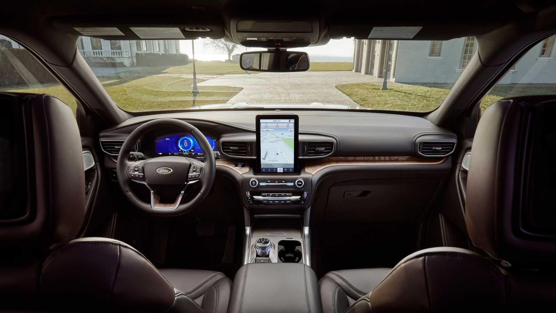 Живые фото и все подробности нового Ford Explorer 2020