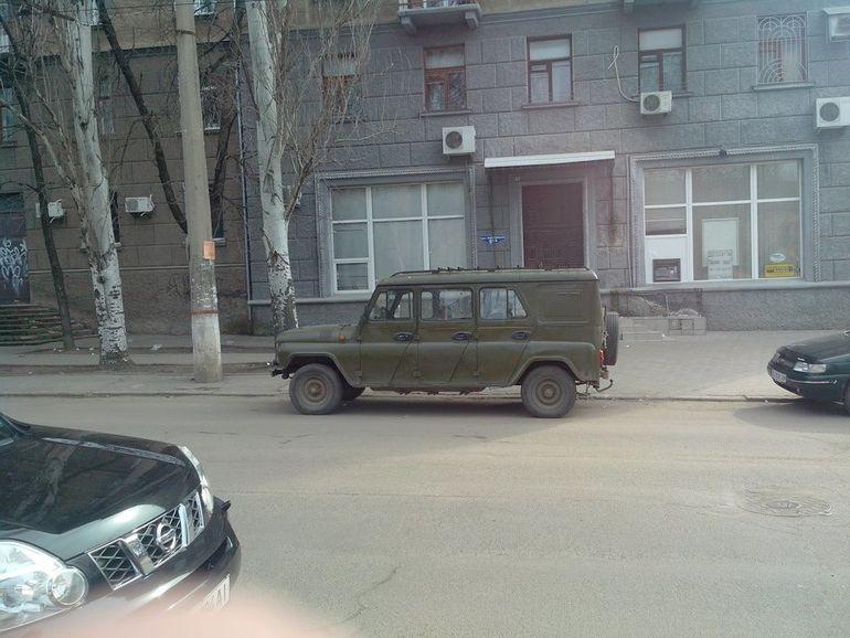 В Украине засветился уникальный лимузин УАЗ