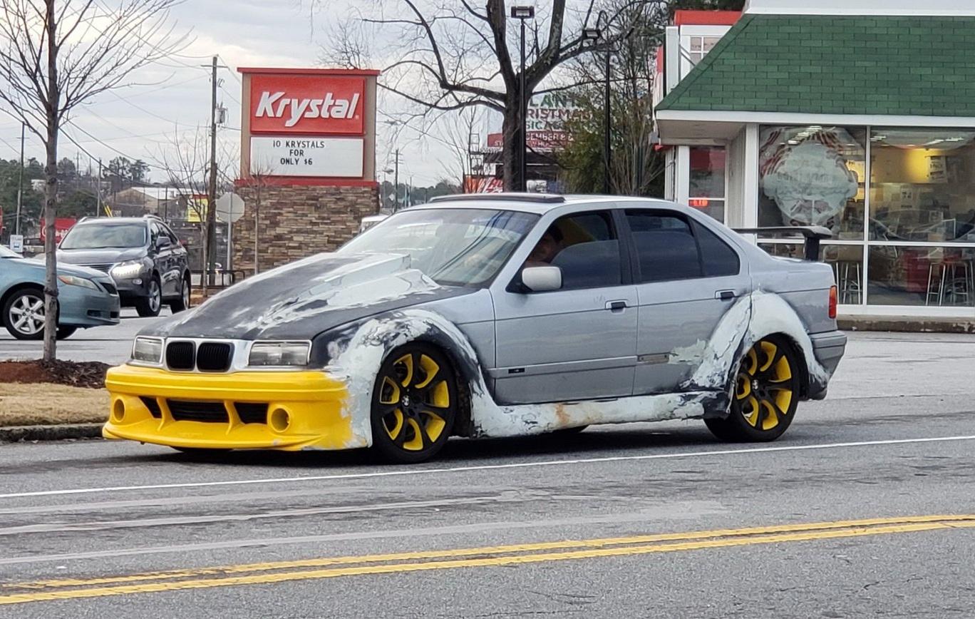 Новость одной картинкой: самый странный тюнинг BMW 3 E36