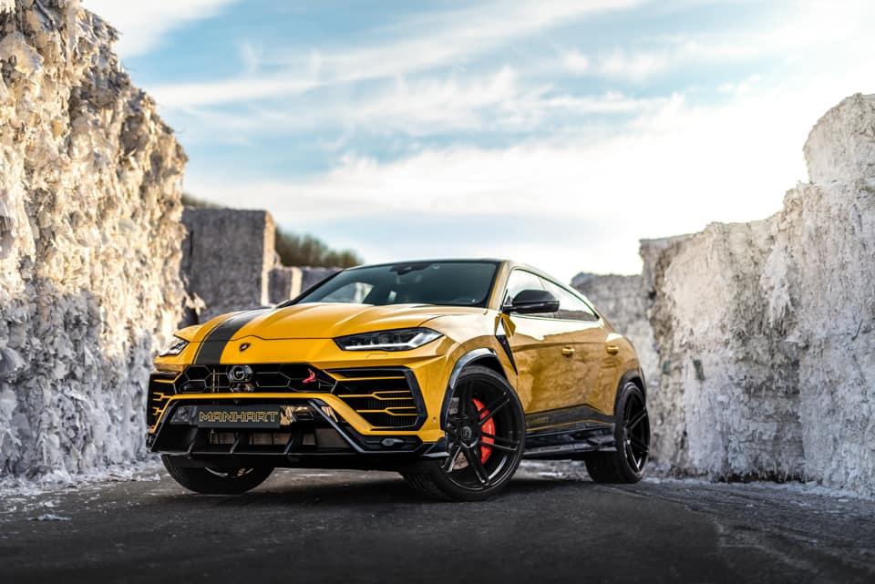 Кроссовер Lamborghini Urus прокачали до 800 сил
