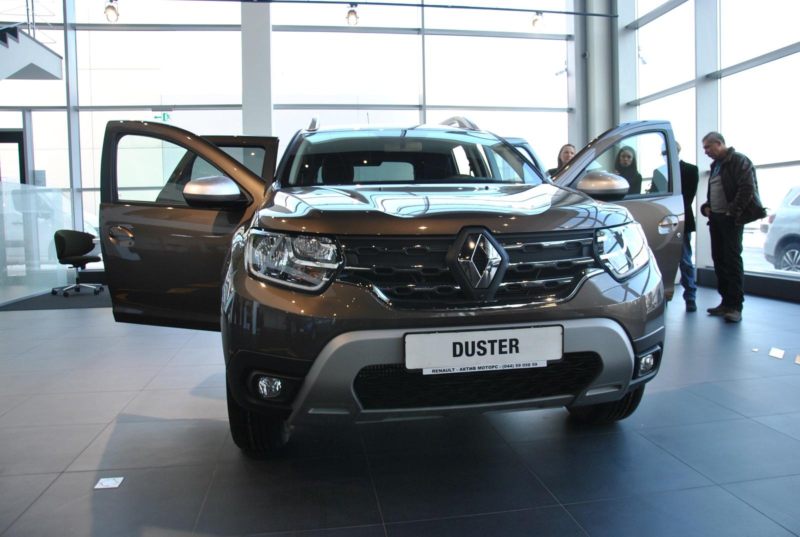 В Украине поступил в продажу самый крутой Renault Duster 2019