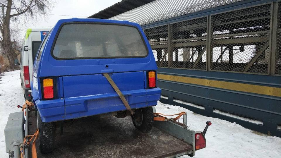 Редчайший украинский внедорожник готовят к реставрации
