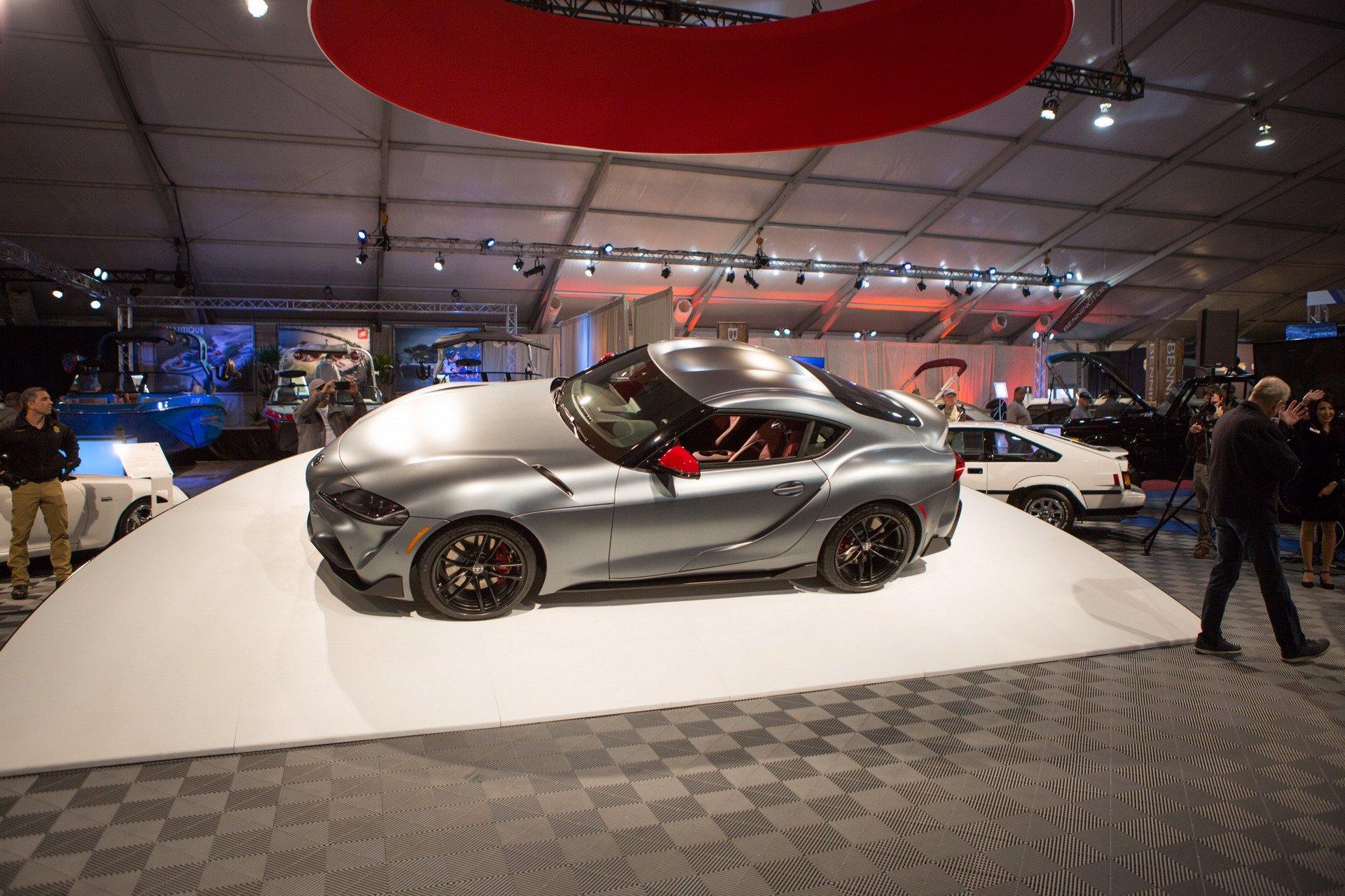 Первая Toyota Supra 2020 продана за 2 миллиона долларов