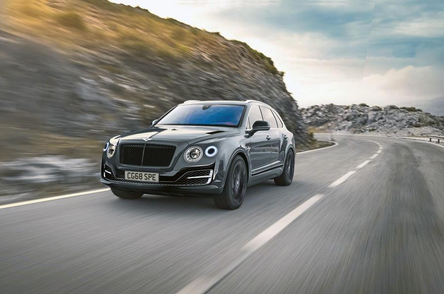 Первое фото самого мощного и самого быстрого Bentley Bentayga